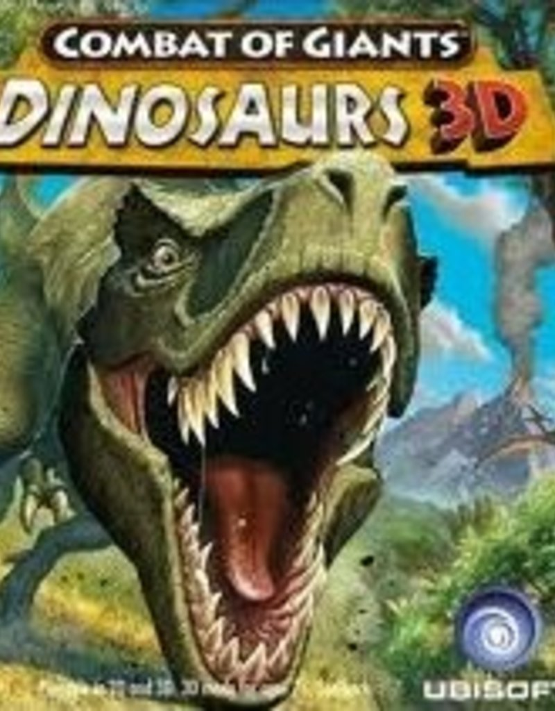 Nintendo 3DS Combat of Giants: Dinosaurs 3D