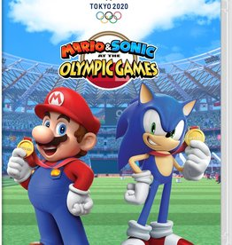 Nintendo Switch Mario and Sonic at the Olympic Games 2020