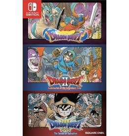 Nintendo Switch Dragon Quest 1-2-3 Collection ( USED, Asian Import, Plays in English)