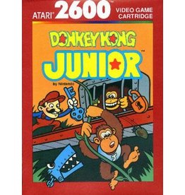 Atari 2600 Donkey Kong Junior (Coleco Label, Boxed, No manual)