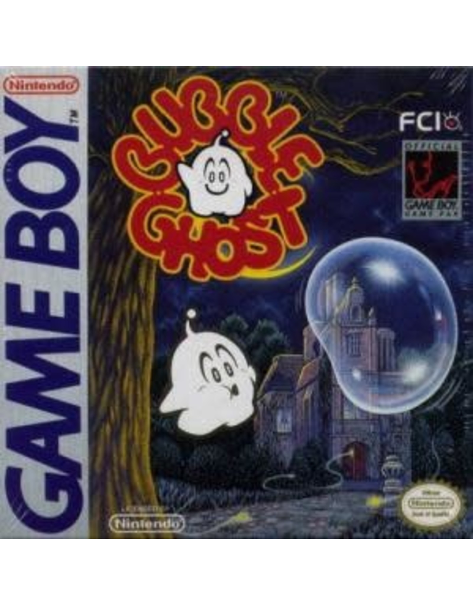 GameBoy Bubble Ghost (Cart Only)