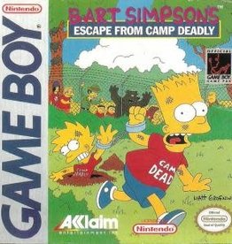 GameBoy Bart Simpson's Escape from Camp Deadly