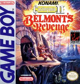 GameBoy Castlevania II Belmont's Revenge