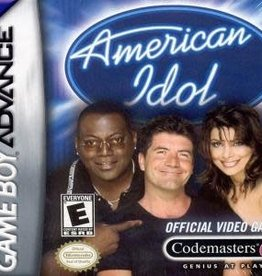 GameBoy Advance American Idol (Boxed, No Manual)