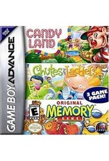 GameBoy Advance Candy Land Chutes and Ladders Memory  (Cart Only)