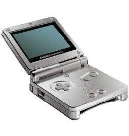 GameBoy Advance Gameboy Advance SP (Platinum, Damaged Shell)