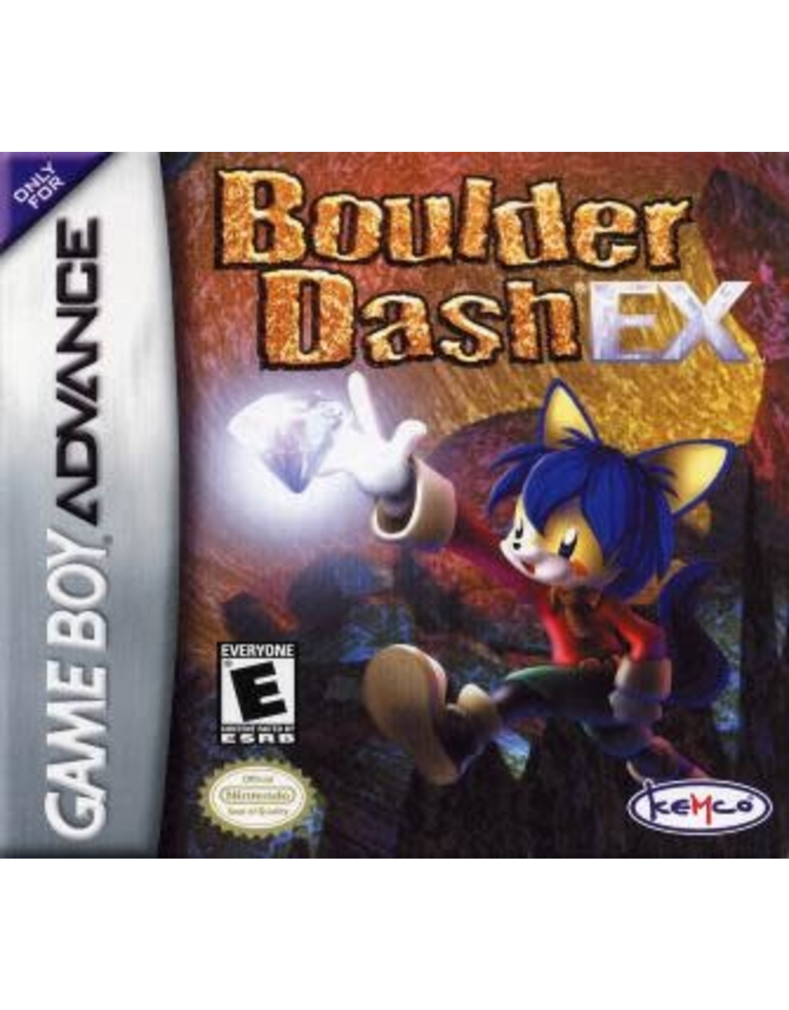 GameBoy Advance Boulder Dash EX (Cart Only)
