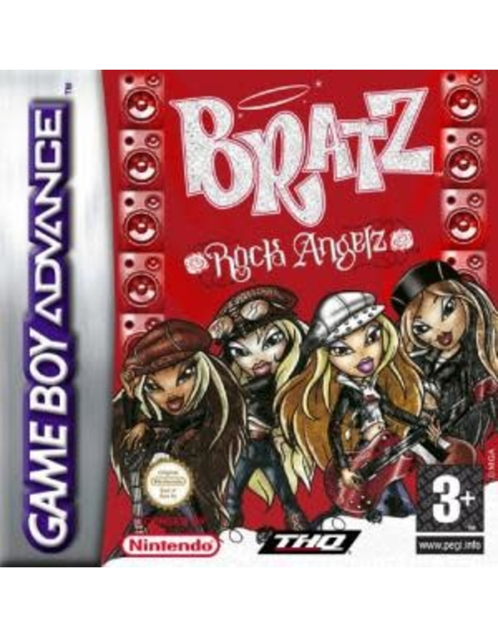 GameBoy Advance Bratz Rock Angelz (Cart Only)