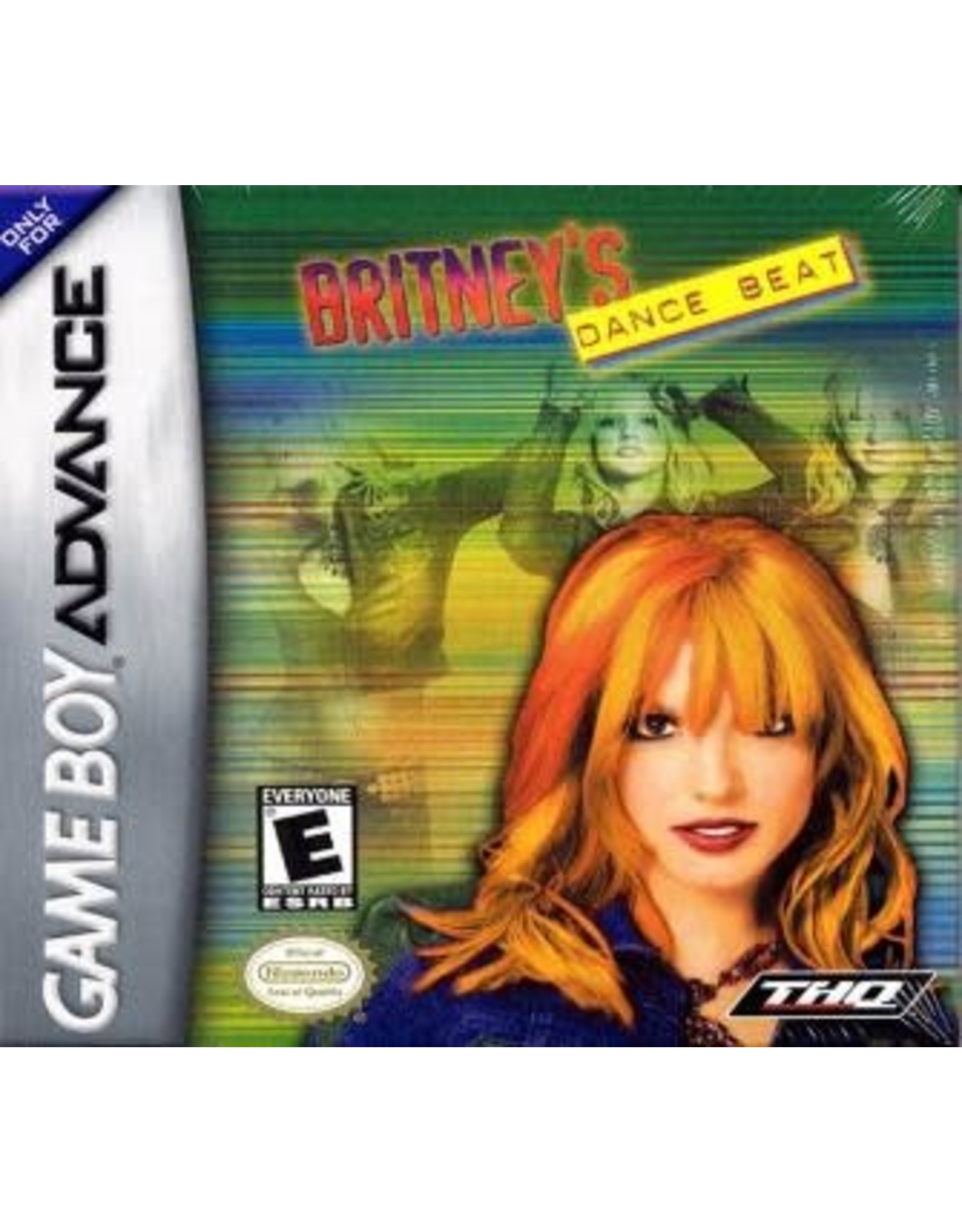 GameBoy Advance Britney's Dance Beat (Cart Only)