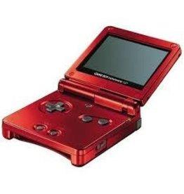 GameBoy Advance Gameboy Advance SP (Red)