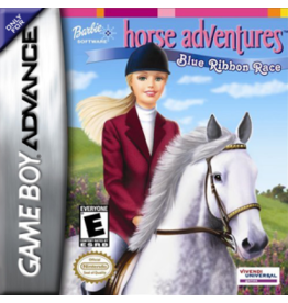 GameBoy Advance Barbie Horse Adventures Blue Ribbon Race (Cart Only)