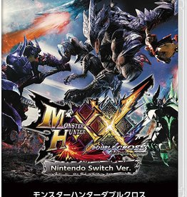 Nintendo Switch Monster Hunter XX Double Cross (Japanese Language ONLY, Used)