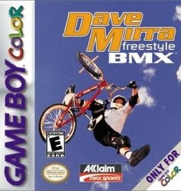 GameBoy Color Dave Mirra Freestyle BMX