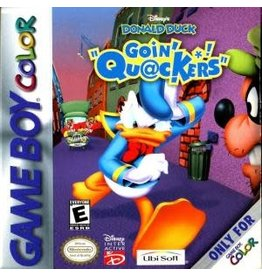 GameBoy Color Donald Duck Going Quackers (Cart Only)