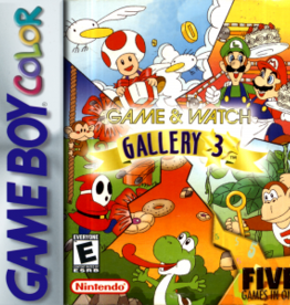 GameBoy Color Game and Watch Gallery 3