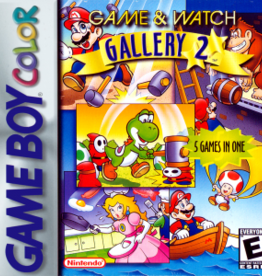 GameBoy Color Game and Watch Gallery 2 (Cart Only)