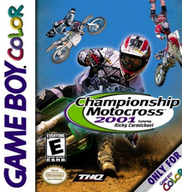GameBoy Color Championship Motocross 2001 (Cart Only)