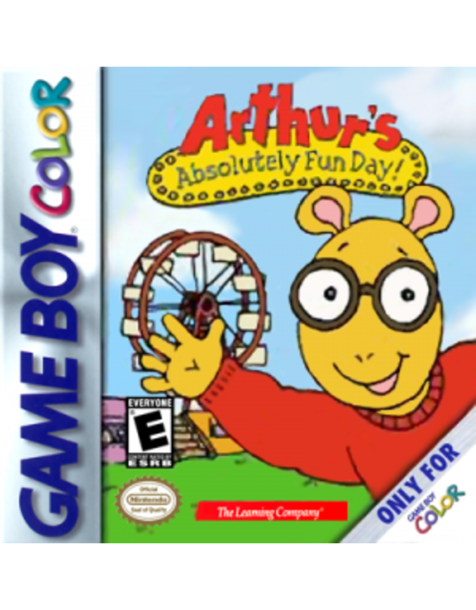 GameBoy Color Arthur's Absolutely Fun Day (Cart Only)