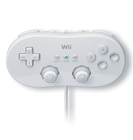 Wii Wii Classic Controller (White)