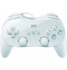 Wii White Wii Classic Controller Pro