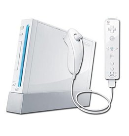 Wii White Nintendo Wii Console (Backwards Compatible, Used)