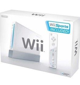 Wii White Nintendo Wii ConsoleW/ Wii Sports (CIB)