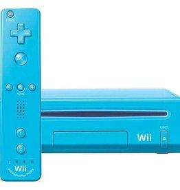 Wii Blue Nintendo Wii Console