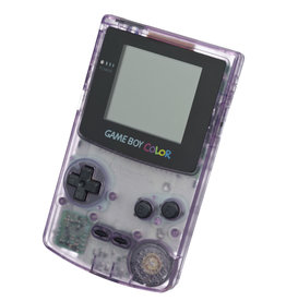 GameBoy Color Game Boy Color (Atomic Purple, New Screen)