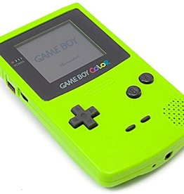 GameBoy Color Game Boy Color (New Screen, Kiwi Green)