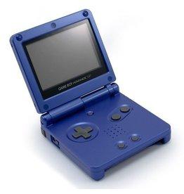 GameBoy Advance Gameboy Advance SP (Blue, Damaged Shell)