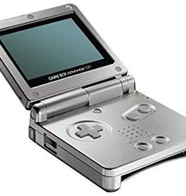 GameBoy Advance Gameboy Advance SP (Silver, Body Damage)