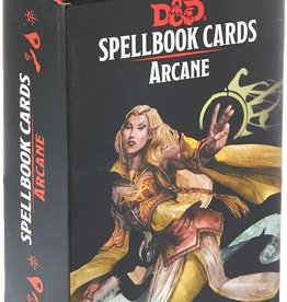Dungeons & Dragons D&D Spellbook Cards Arcane