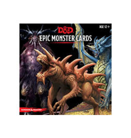 Dungeons & Dragons D&D Epic Monster Cards