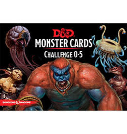 Dungeons & Dragons D&D Monster Cards Challenge 0-5