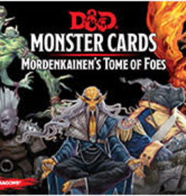 Dungeons & Dragons D&D Monster Cards Mordenkainens tome of Foes
