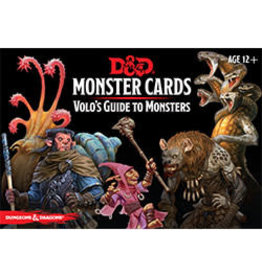 Dungeons & Dragons D&D Monster Cards Volos Guide to Monsters