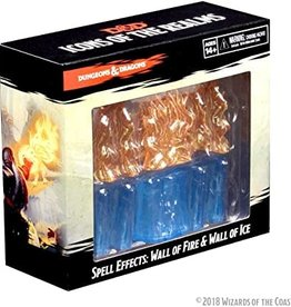 Dungeons & Dragons D&D Spell Effects Wall of Fire & Ice Figure Set