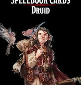 Dungeons & Dragons D&D Spellbook Cards Druid