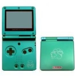 GameBoy Advance Gameboy Advance SP Venusaur Edition (Worn Shell, Consignment)