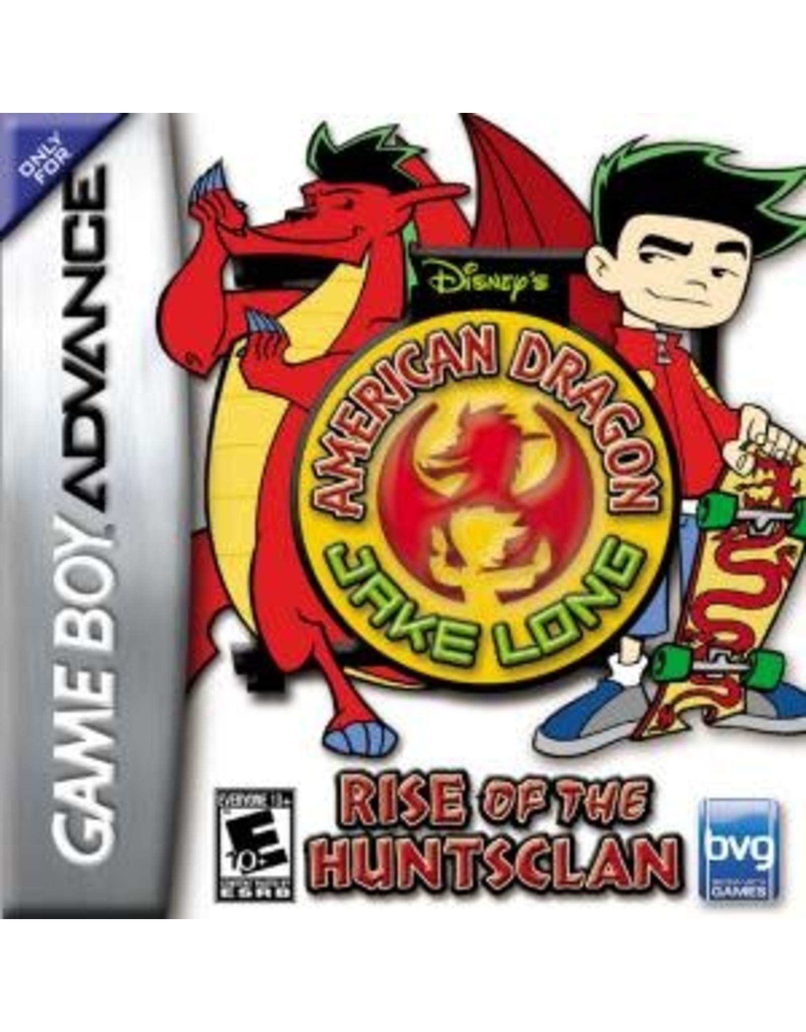 GameBoy Advance American Dragon Jake Long Rise of the Huntsclan (Cart Only)