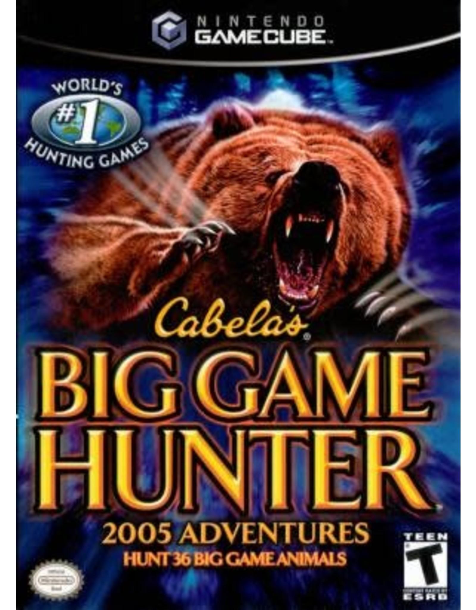 Gamecube Cabela's Big Game Hunter 2005 Adventures