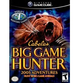 Gamecube Cabela's Big Game Hunter 2005 Adventures