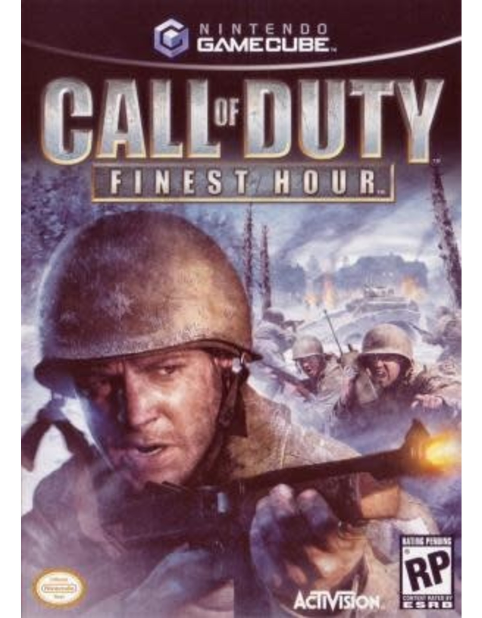 Gamecube Call of Duty Finest Hour (CIB)