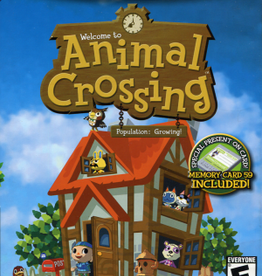 Gamecube Animal Crossing (CIB With Memory Card!)