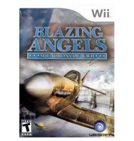 Wii Blazing Angels Squadrons of WWII (CIB)