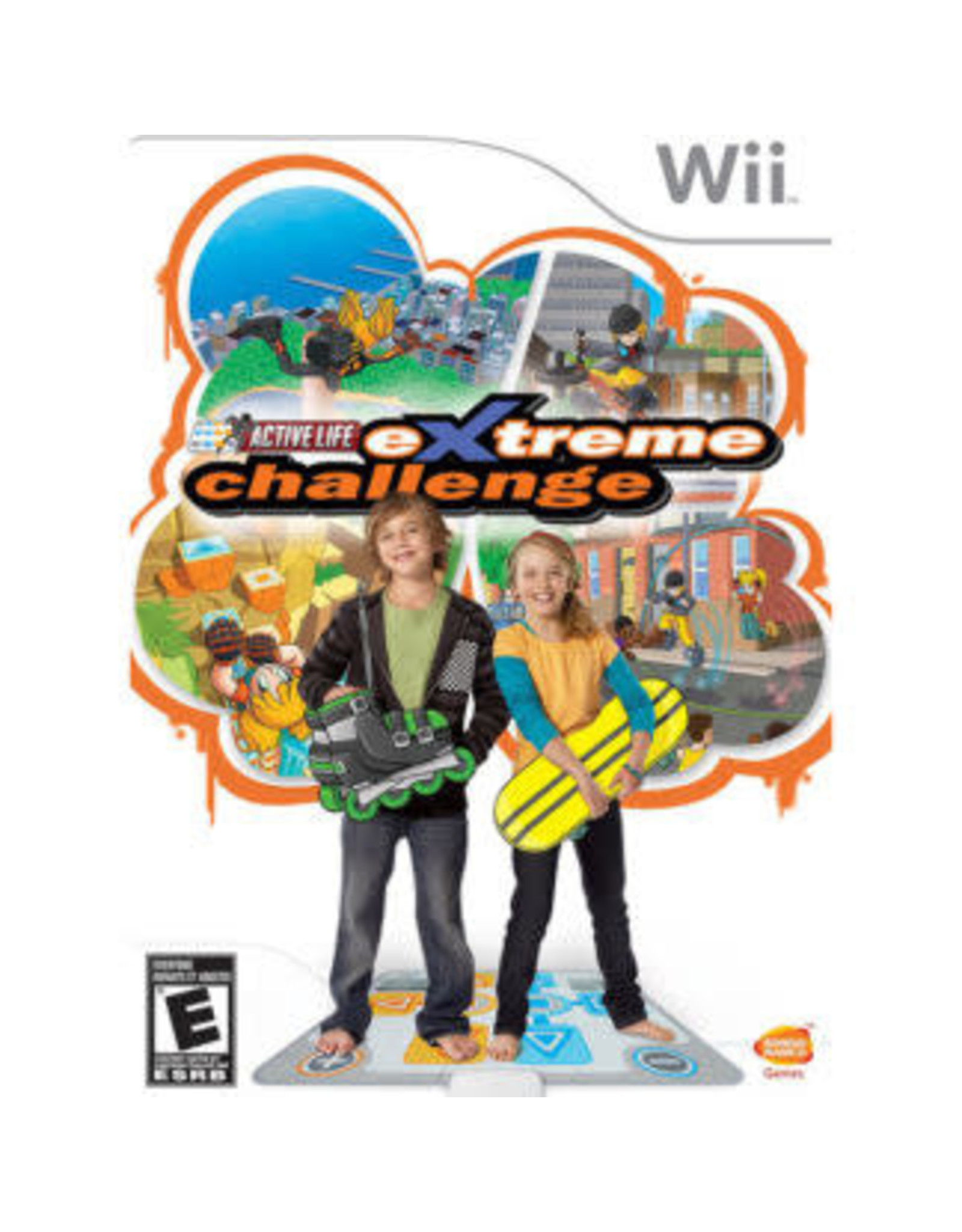Wii Active Life: Extreme Challenge *Active Life Mat Required*