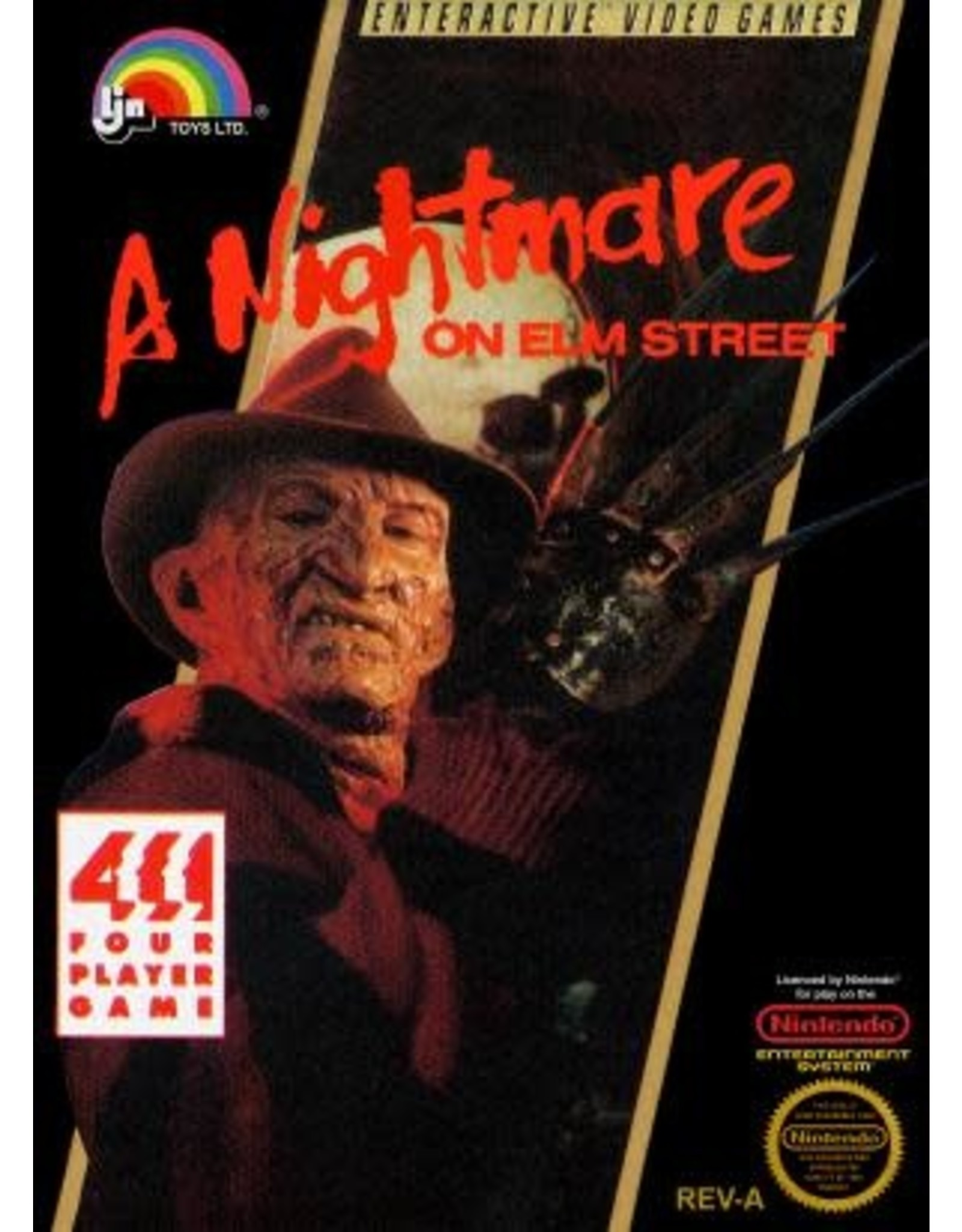 NES A Nightmare on Elm Street (Cart Only)