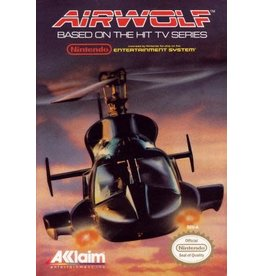 NES Airwolf (Cart Only)