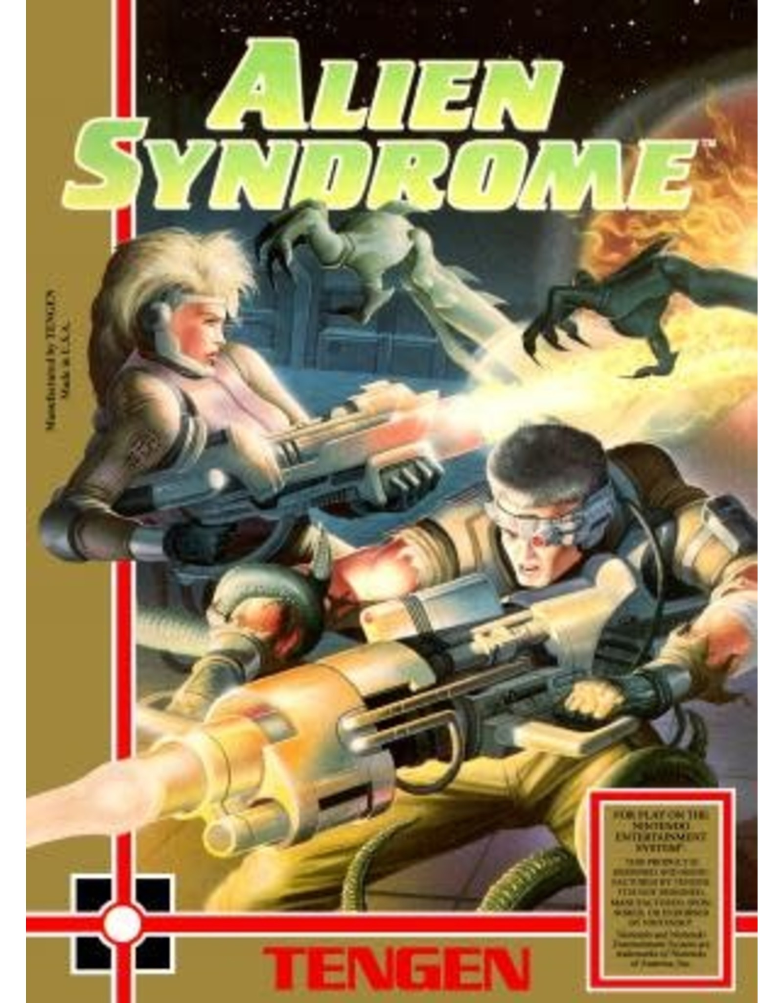 NES Alien Syndrome (Cart Only)