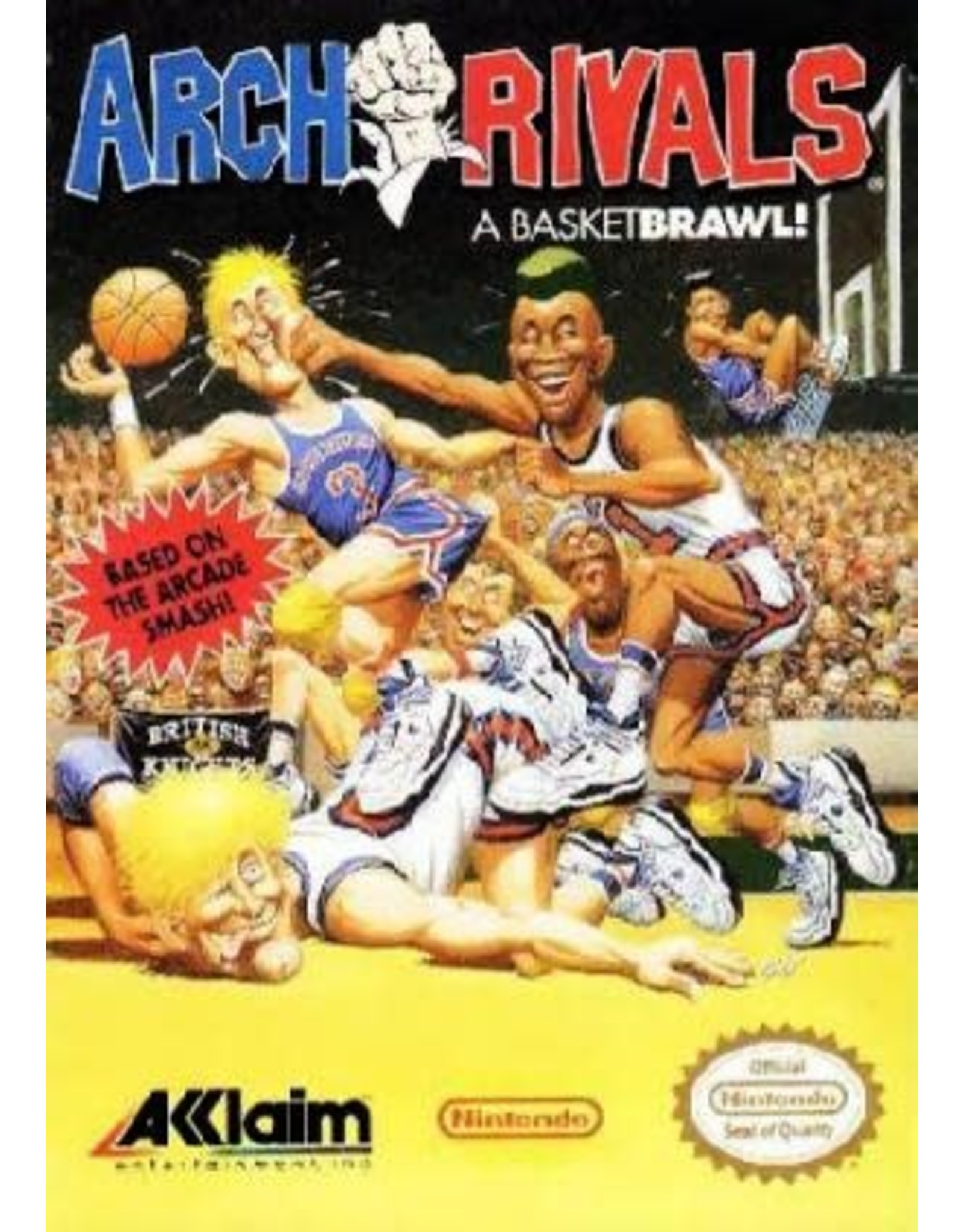 NES Arch Rivals (Cart Only)